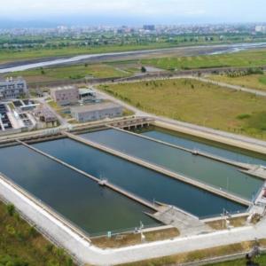 清洲淨水場(JV100%)沉砂調節池及清水池結構工程、廢水設備區、排水溝工程、圍牆工程等 4