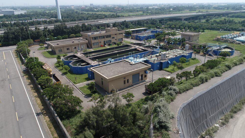 大潭工業區廢水處理場