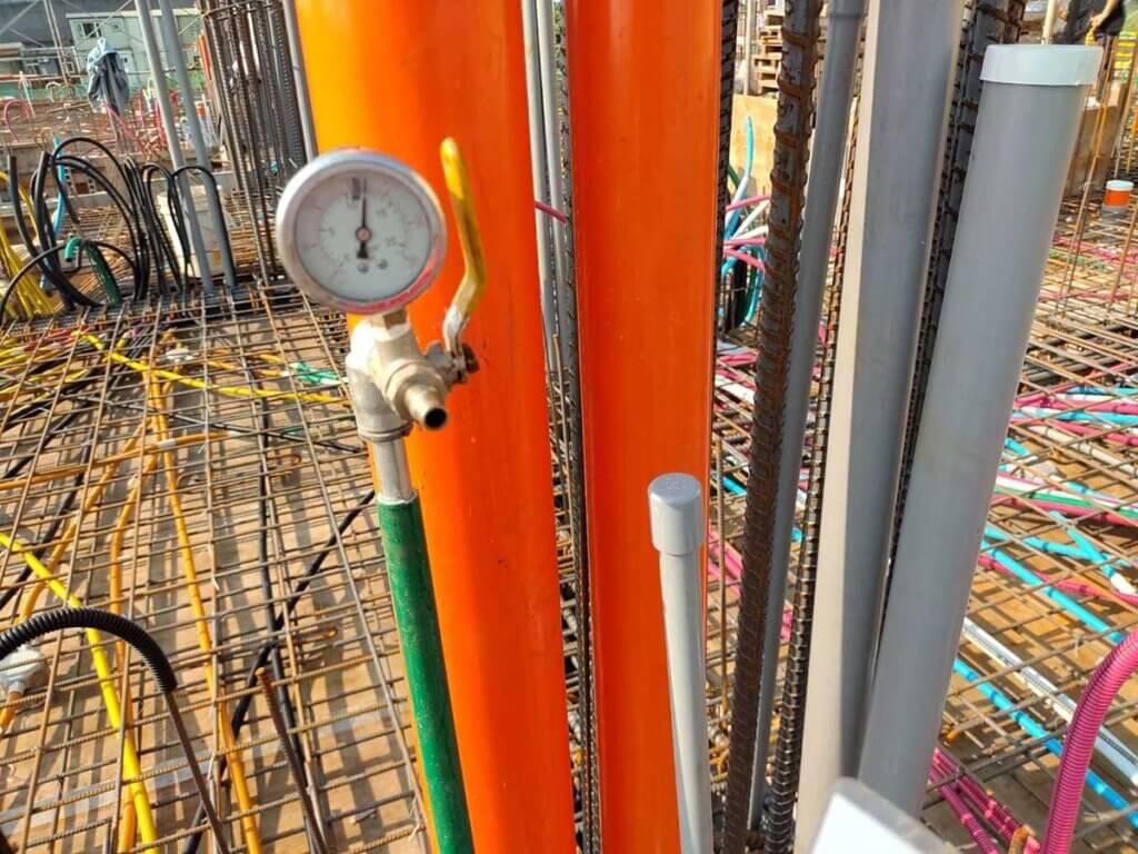 2021_03月12日_B_2F頂版冷熱水試壓及樓板清潔 4